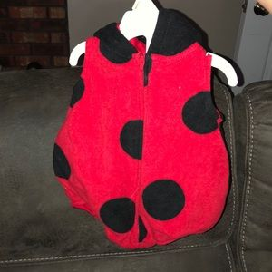 Baby Ladybug costume, like new!! 3-6 months